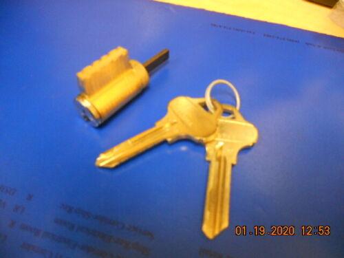 Schlage 23-065 626 D145 w 2 blanks. Restricted keyway. For KIK KIL or Modular