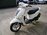 2014 Yamaha XC 115 S DELIGHT WHITE SCOOTER