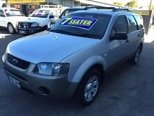 2006 Ford Territory SY TX (RWD) Silver 4 Speed Auto Seq Sportshift Wagon Medindie Walkerville Area Preview