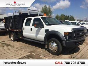 2008 Ford F-450 DRW Super Duty RWD Dump Box Truck GAS