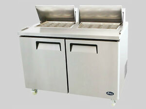 5' Refrigerated Prep Table - brand new - EZ Financing