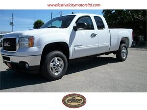2011 GMC SLE Sierra 2500 HD Ext. Cab Short Box | CERTIFIED