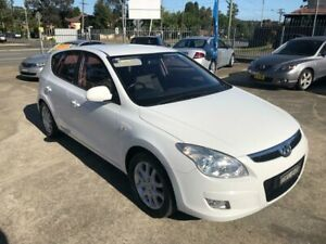 2010 Hyundai i30 FD SLX Hatchback 5dr Auto 4sp 2.0i White Automatic Hatchback Bass Hill Bankstown Area Preview