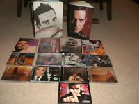 ROBBIE WILLIAMS 9 CDS AND 4 CONCERT DVDS AND 2 BOOKS