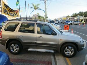 2003 Mazda Tribute Luxury Gold 4 Speed Automatic 4x4 Wagon Southport Gold Coast City Preview