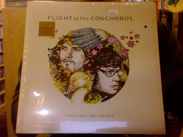 Flight Of The Conchords I Told You I Was Freaky vinyl LP + download NEW/SEALED