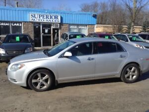 2012 Chevrolet Malibu LT Fully Certified! Carproof Verified!