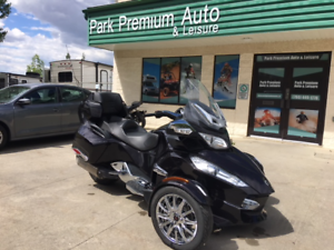 ONLY $119 BI-WEEKLY! CAN-AM SPYDER RT LIMITED IN MINT CONDITION!