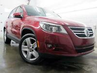 2011 Volkswagen Tiguan Highline CUIR TOIT PANOR MAGS 18 91,000KM