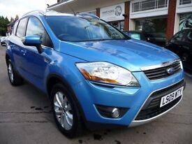 FORD KUGA 2.0 TITANIUM TDCI 2WD 5d 134 BHP (blue) 2009