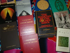 Numerous spiritual occult books, Crowley and more Kingston Kingston Area image 3