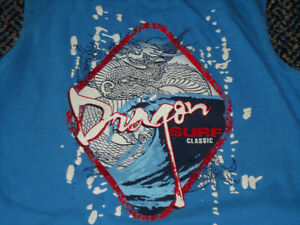 Boys Size 7 Dragon Cotton Tank Top Kingston Kingston Area image 2