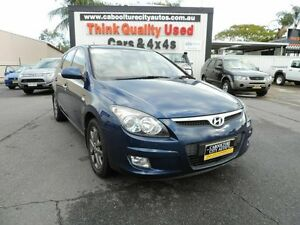 2011 Hyundai i30 FD MY11 Trophy Blue 4 Speed Automatic Hatchback Caboolture South Caboolture Area Preview