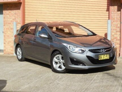 2012 Hyundai i40 VF Active Silver 6 Speed Automatic Wagon Baulkham Hills The Hills District Preview