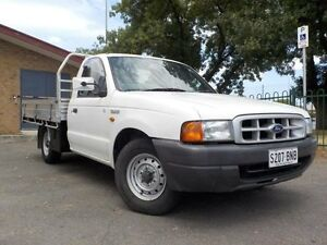 2002 Ford Courier PG GL White 5 Speed Manual Cab Chassis Manningham Port Adelaide Area Preview