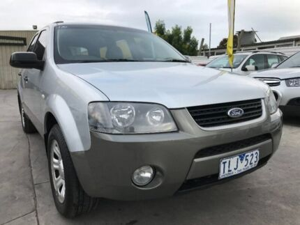 2005 Ford Territory SX TX Silver 4 Speed Sports Automatic Wagon Maidstone Maribyrnong Area Preview