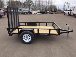 "NEW 2018 SURE-TRAC 60"" x 8' UTILITY TRAILER"