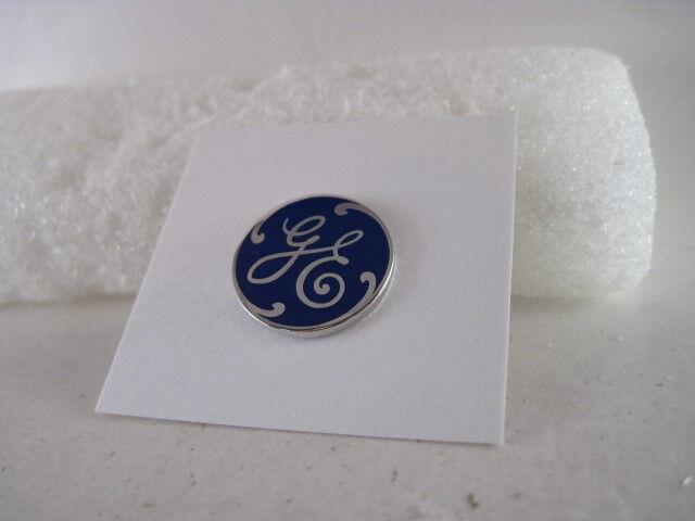 GE   cloisonne  logo   lapel pin   (cc89  8)x