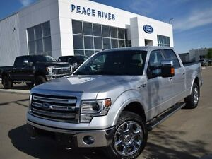 2014 Ford F-150 Lariat 4x4 SuperCrew Cab 6.5 ft. box 157 in. WB