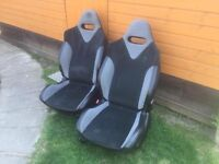 Lovely Peugeot 207 GTI Seats - Great For Boats or 4x4s - Only £90