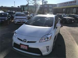 2012 Toyota Prius,Camera,No Accidents,Leather