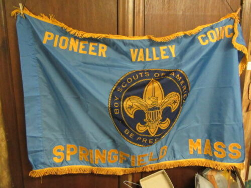 Pioneer Valley Council Springfield, Mass Council Flag, Council Merged       TH3