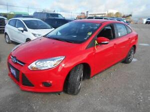 2013 Ford Focus SE Sedan with 32,000Km Certified $12,495+Hst&Lic