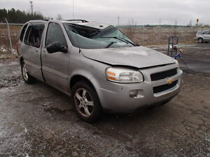 parting out 2005 chev uplander