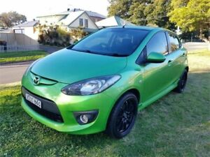 2007 Mazda 2 DE Genki Green 5 Speed Manual Hatchback Broadmeadow Newcastle Area Preview