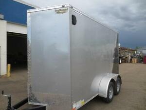 6 X 12 CONTINENTAL CARGO, TA, STEEL, RAMP WITH SPRING ASSIST