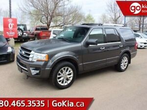 2015 Ford Expedition Limited; FULLY LOADED, 4X4, NAV, SUNROOF, L
