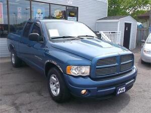 2003 DODGE RAM 1500 SLT QUAD CAB * 4X4 * SLT * LOADED *