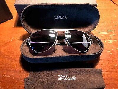 RARE NEW Tom Ford James Bond 007 TF 108 Aviator Sunglasses