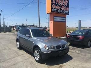 2005 BMW X3 2.5i AWD****185 KMS****NAVIGATION***PANO ROOF**