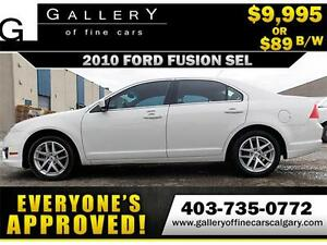2010 Ford Fusion SEL AWD $89 bi-weekly APPLY TODAY DRIVE TODAY