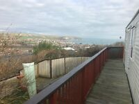 Static Caravan Holiday Home Holiday in Swanage, Dorset with Sea Views