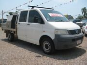2008 Volkswagen Transporter T5 MY08 Crewvan Low Roof White 6 Speed Manual Dual Cab Holtze Litchfield Area Preview