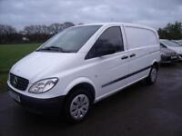 MERCEDES VITO 109 CDI COMPACT SWB White Manual Diesel, 2008