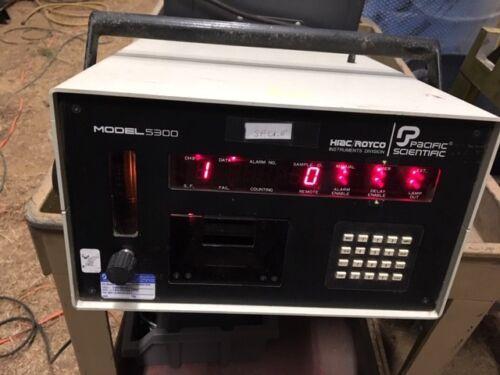 Pacific Scientific Hiac/Royco Particle Counter, Model 5300