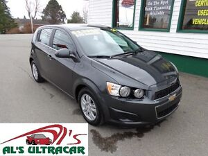 2016 Chevrolet Sonic LT HB only $113 bi-weekly all in!