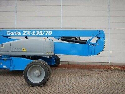 Genie Zx-13570 Articulating Forklift Reach Boom Decal Set Sticker Kit Lk 135