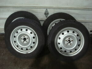 WINTER SNOW TIRES and WHEELS 225 60 17 Subaru Forester