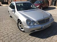 Mercedes-Benz C Class 2.1 C220 CDI Elegance SE 4dr,1 OWNER,NEW MOT,FULL SERVICE HISTORY,HPI CLEAR