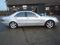 0252 MERCEDES-BENZ S CLASS S320 CDi TURBO DIESEL AUTOMATIC 107K FSH 9 STAMPS