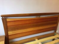 Solid Wood King Size Bed for Sale