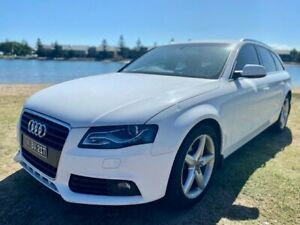 2011 Audi A4 B8 8K MY11 Avant Multitronic White 8 Speed Constant Variable Wagon