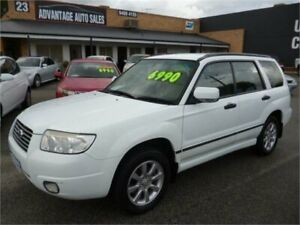 2005 Subaru Forester MY05 XS Luxury White 4 Speed Automatic Wagon Wangara Wanneroo Area Preview