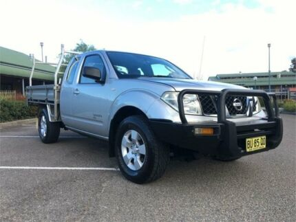 2008 Nissan Navara D40 RX King Cab Silver 5 Speed Automatic Cab Chassis Mount Druitt Blacktown Area Preview