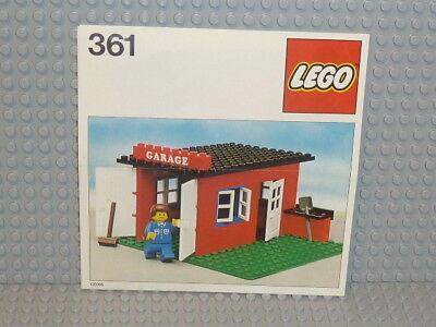 LEGO® Classic Town Bauanleitung 361 Garage ungelocht instruction B1029