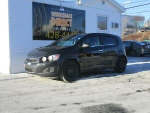 2012 Chevrolet Sonic HATCHBACK LT 5 SPEED 1.8 L